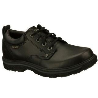 Skechers 64260 BLK Men's SEGMENT-RILAR Casual Shoes