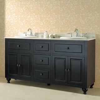 Miseno Mvke60 60 Free Standing Vanity Set With Cabinet Granite Top