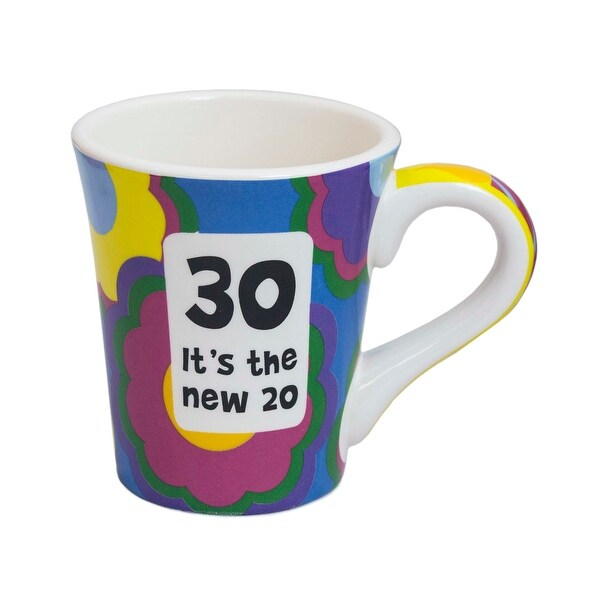 Tumbleweed Pottery 30th Birthday Mug