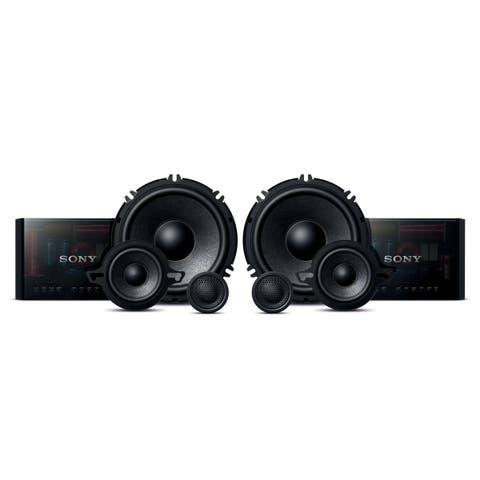 """Sony XS-GS1631C GS-Series 6.5"""" 3-Way Component Speakers"""