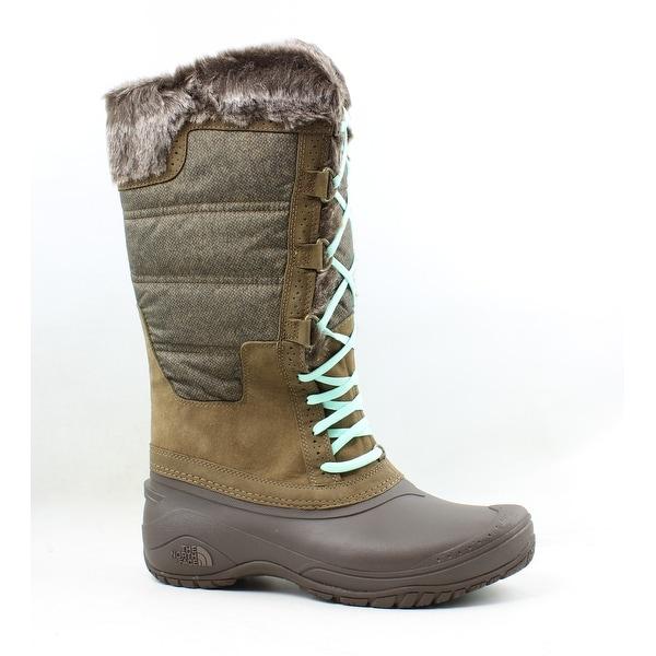 7e510e715 Shop The North Face Womens Shellista Ii Brown Snow Boots Size 10.5 ...