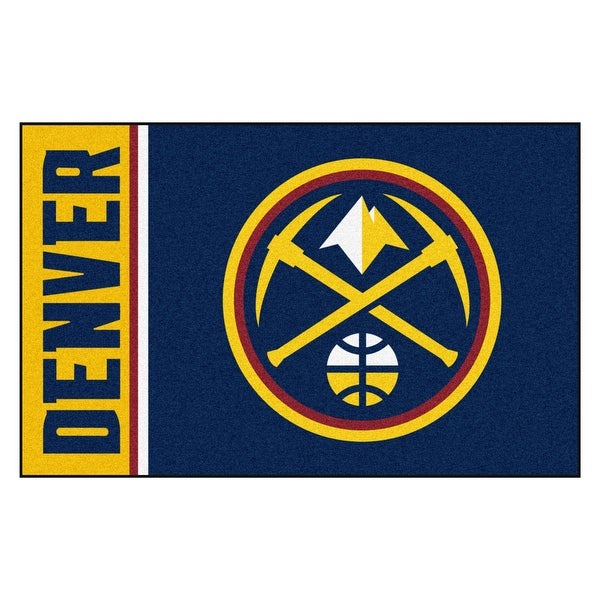 sports shoes 94b21 a01e0 NBA Denver Nuggets Starter Mat Rectangular Area Rug - N/A