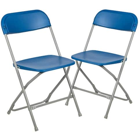 2PK 650 lb. Rated Plastic Folding Chair - Commercial & Event Chairs