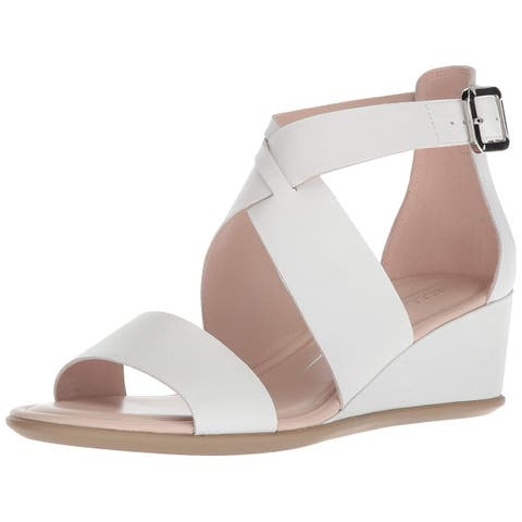 a155d7aa5c90 ECCO Womens Shape 35 Leather Open Toe Casual Strappy Sandals