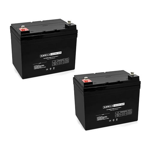 Replacement Deep Cycle AGM SLA Battery 12V-33Ah (2-Pack) Replacement AGM SLA Battery