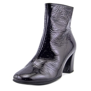Gabor 71.710 Women  Square Toe Patent Leather Purple Ankle Boot