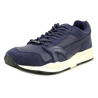 Puma Xt1 Citi Series Men Round Toe Leather Blue Running Shoe