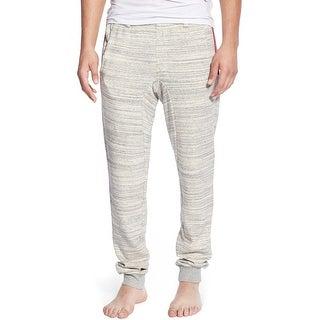 2(x)ist Slim Fit Terry Cloth Marl Stripe Lounge Pants Medium M Heather Gray