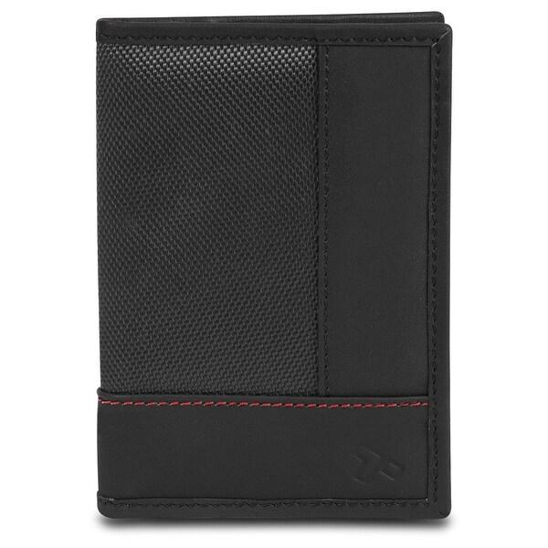Travelon SafeID Accent Passport Case & Bi-Fold Wallet, Black
