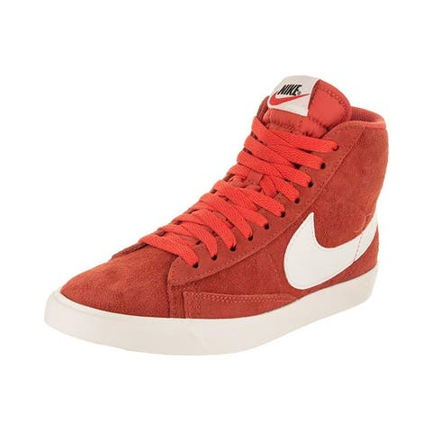 Nike Womens Blazer Mid Vntg Fabric Hight Top Lace Up Fashion Sneakers