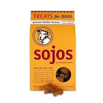 6a790a95186a Shop Sojos Gourmet Peanut Butter Honey Dog Treats - Free Shipping On ...