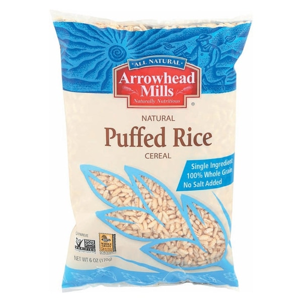 Shop Arrowhead Mills All Natural Puffed Rice Cereal, Whole