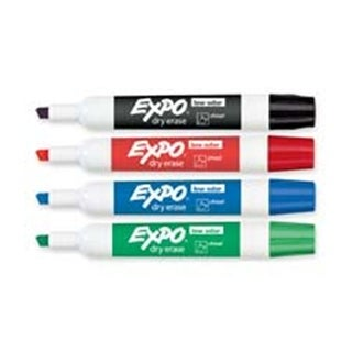 Sanford Ink Corporation Dry-erase Markers- Chisel Point- Nontoxic-