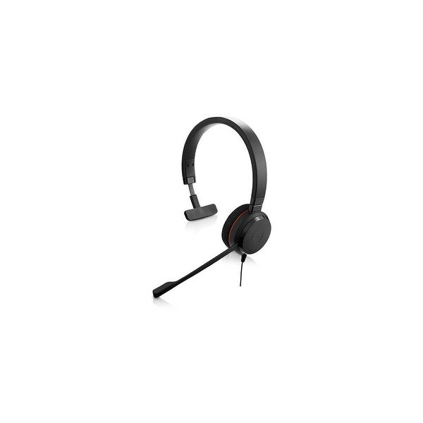Jabra Evolve 20 UC Mono Corded Headset w/ Passive Noise Canceling Speakers