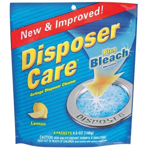 Disposer Care DP06N-PB Garbage Disposer Foaming Cleaner, 1.35 Oz, Pk/4