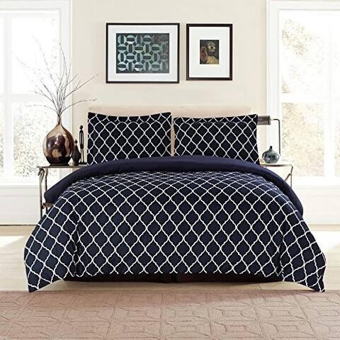 Porch & Den Microfiber Duvet Cover Set Luxury Quality in Duvet Cover Set