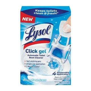 Lysol 1920092918 Click Gel Automatic Toilet Bowl Cleaner, 0.68 OZ