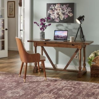 Edmaire Convertible Dining Table and Office Desk by iNSPIRE Q Classic