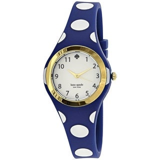 Kate Spade Women's Rumsey 1YRU0839 Blue Rubber Quartz Fashion Watch