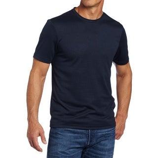Perry Ellis NEW Navy Blue Mens Size 2XL Solid Crewneck Tee T-Shirt
