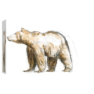 """PTM Images 9-102010  PTM Canvas Collection 8"""" x 10"""" - """"Brown Bear 2"""" Giclee Bears Art Print on Canvas"""
