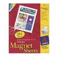 Consumer Products  Magnet Sheets- Printable- Inkjet- 8-.50in.x11in.