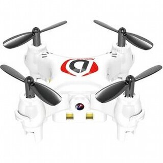Worryfree Gadgets - Minidrone-Wht Mini Drone Mirage Toy With Camera, White
