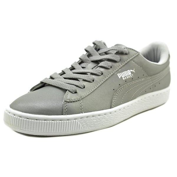 Puma Basket Reflective Men Round Toe Synthetic Sneakers