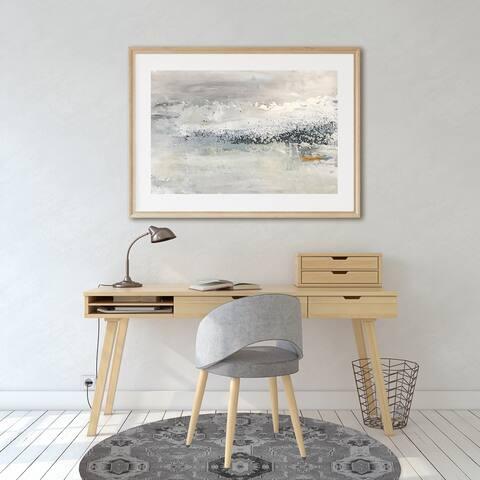MAHAL GREY Office Mat By Kavka Designs