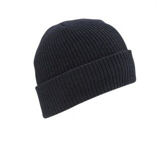 Wigwam F4707-586-OS Classic Ribbed Worsted Wool Watch Cap, Navy, One Size