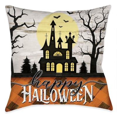 Halloween Nights Outdoor Pillow
