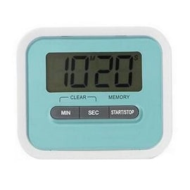Digital Kitchen Timer Count Down Up Magnetic blue