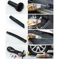 Multifunction Wet or Dry Handheld Duckbill Car Vacuum & Air Compressor - Thumbnail 4