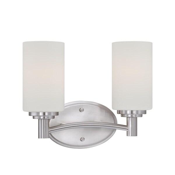 Thomas Lighting 190022 2 Light Bathroom Fixture From The Pittman Collection