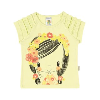 Baby Girl Shirt Infant Floral Graphic Tee Pulla Bulla Sizes 3-12 Months (3 options available)