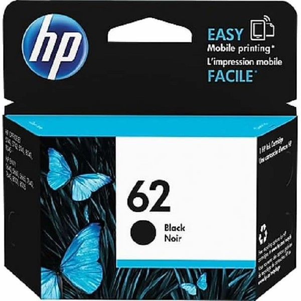 HP 62 Black Original Ink Cartridge C2P04AN