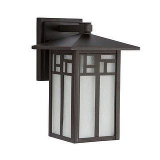 "Park Harbor PHEL3200 Weaver 10"" Tall Single Light Outdoor Wall Sconce"