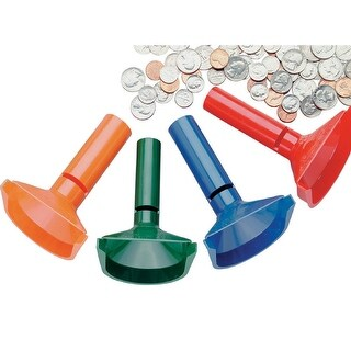 Mmf Industries(Tm) - 224000400 - Assorted Coin Count Tubes