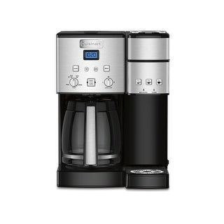 Cuisinart SS-15 Coffee Center 12 Cup Coffeemaker And Single-Serve Brewer, Stainless Steel