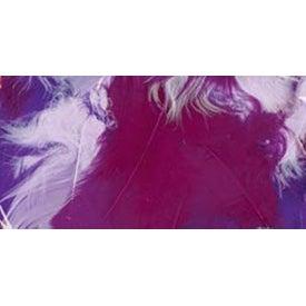Purple - Turkey Plumage Feathers .5Oz