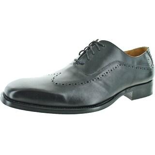 Donald J Pliner Coen Men's Brogue Wingtip Oxford Shoes