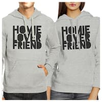 Homie Lover Friend Matching Couple Hoodies Cute Newlyweds Gifts