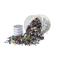School Specialty Glass Bead Kit, Assorted Size