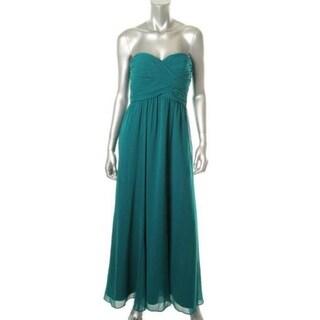 Ralph Lauren Womens Petites Emmie Evening Dress Chiffon Prom - 4P