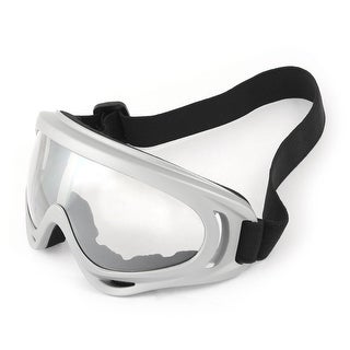 Unique Bargains Adjustable Strap Full Rim Skiing Snowboard Snow Goggles Sunglasses