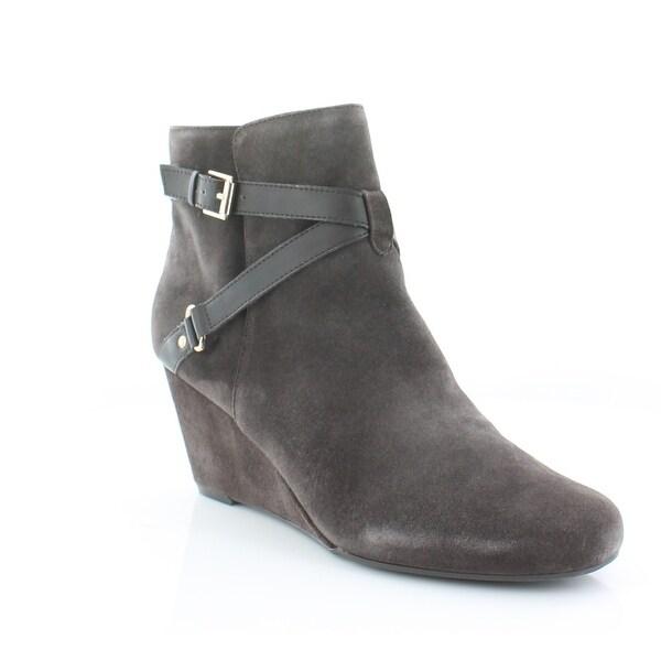 Isaac Mizrahi Live! Kast Women's Boots Brown Multi