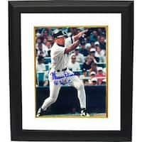 Mariano Duncan signed New York Yankees 8x10 Photo Custom Framed 96 WSC World Series Champions