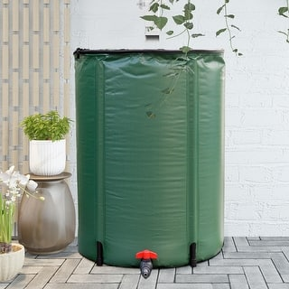 Shop Sterling Rain Wizard 50 Gallon Black Rain Barrel