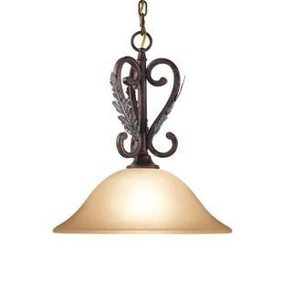Woodbridge Lighting 22005 Hawthorne 1 Light Aged Bark Pendant