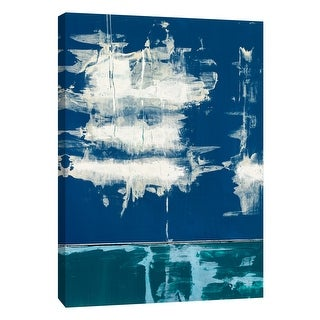 """PTM Images 9-105293  PTM Canvas Collection 10"""" x 8"""" - """"Squeegeescape 11"""" Giclee Abstract Art Print on Canvas"""
